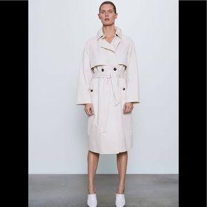 Zara belted trench coat